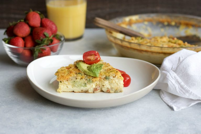 Impossible Breakfast Quiche