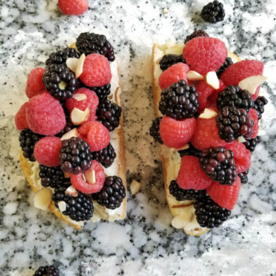 Berry Ricotta Toast