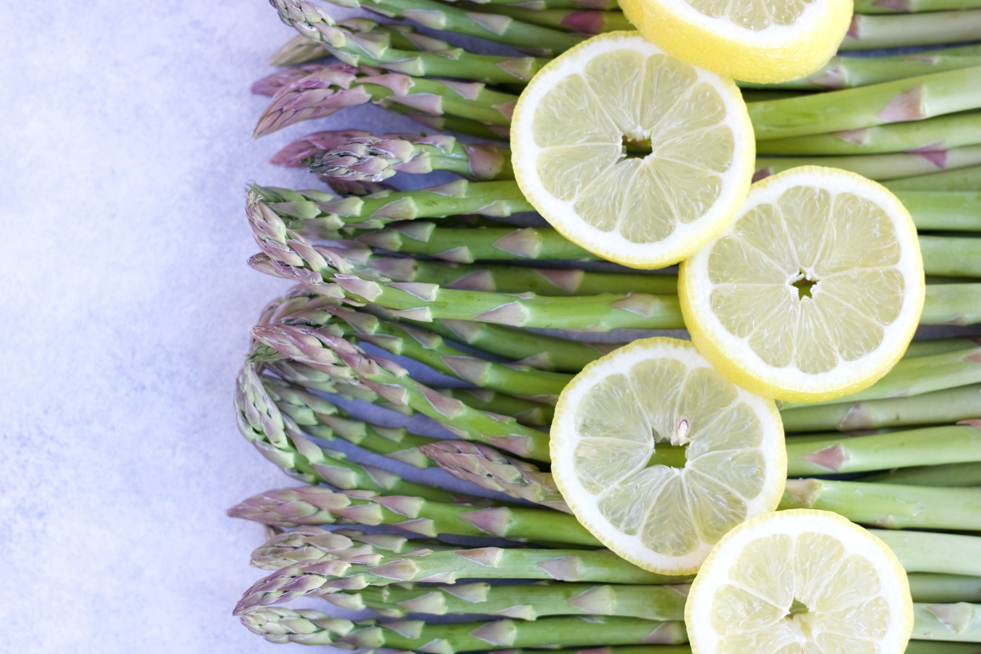 Asparagus With Lemon And Butter