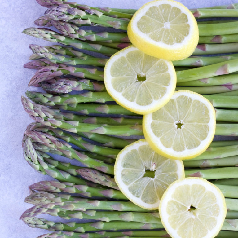 Lemon Butter Asparagus (DF)