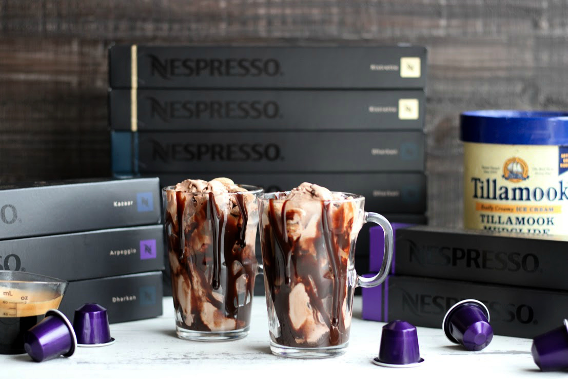 Chocolate Fudge Affogato