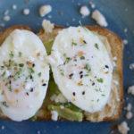 Roasted Garlic Hummus & Avocado Toast