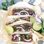 Chimichurri Flank Steak Tacos - Blog-1