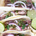 Chimichurri Flank Steak Tacos - Blog-2