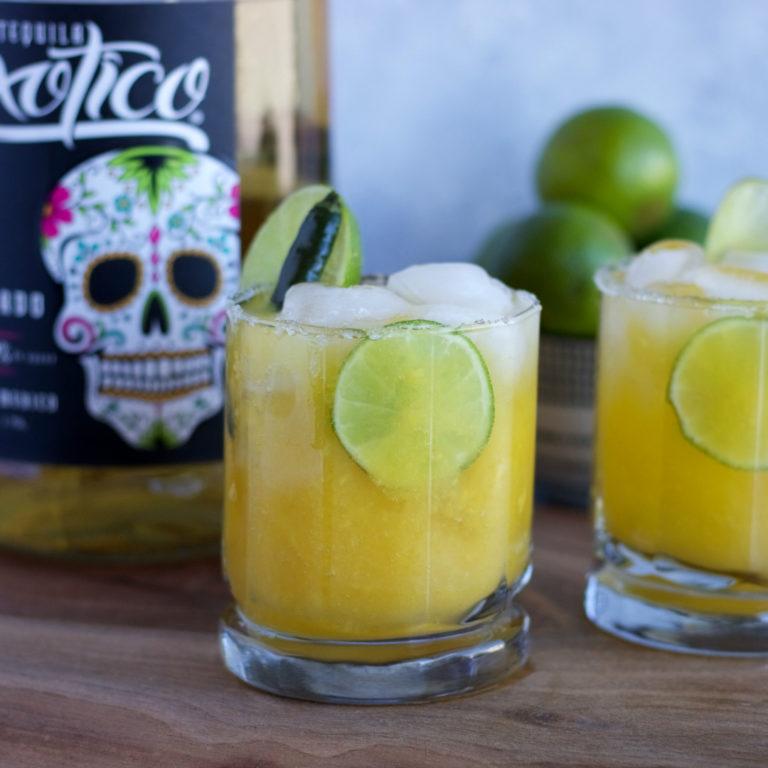 Mango Serrano Margaritas