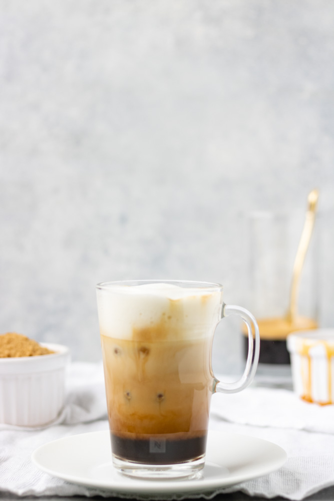 Iced Brown Sugar Caramel Latte - Blog-1