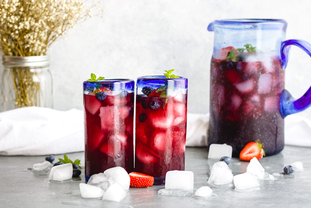 Sparkling Pomegranate Berry Punch - Blog-2