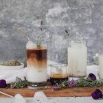 Honey & Lavender Iced Lattes