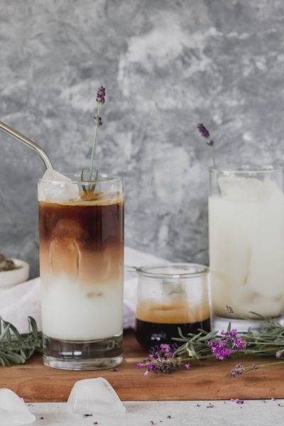Honey & Lavender Iced Lattes