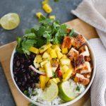 Chile Lime Chicken Burrito Bowls-1