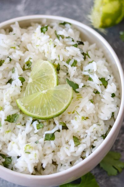 Quick & Easy Cilantro-Lime Rice-1