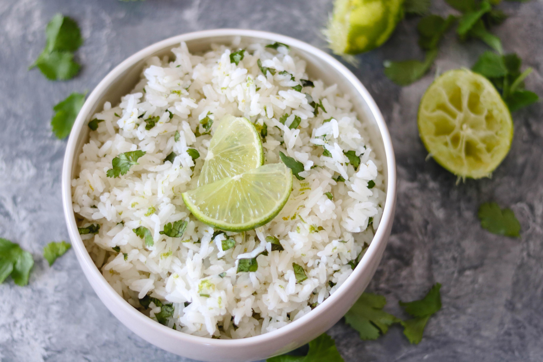 Quick & Easy Cilantro-Lime Rice-1