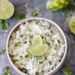 Quick & Easy Cilantro-Lime Rice-2