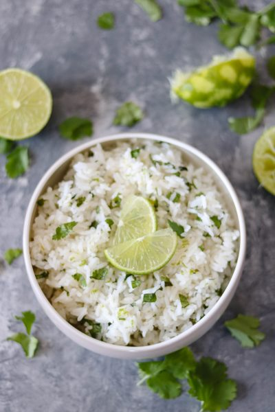 Quick & Easy Cilantro-Lime Rice-2
