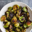 Charred Balsamic Brussels Sprouts-2