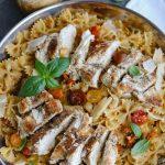 Tomato Basil Chicken Pasta-1
