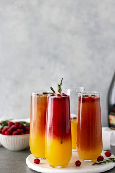 Christmas Cranberry Mimosas - Blog-1