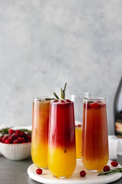 Christmas Cranberry Mimosas - Blog-1