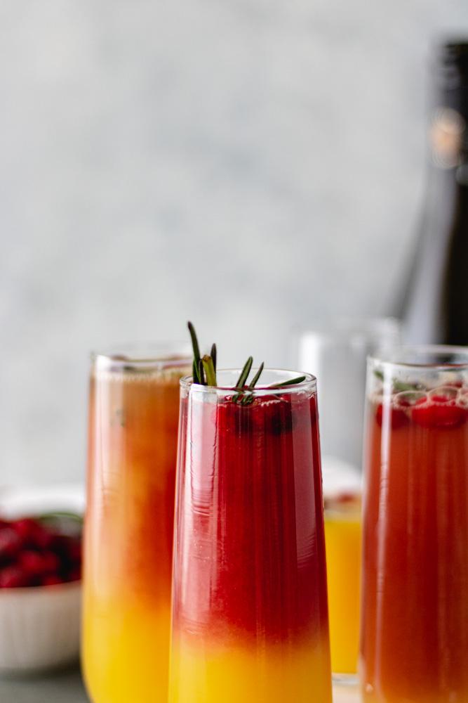 Christmas Cranberry Mimosas - Blog-2