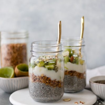 Loaded Kiwi Chia Pudding (Dairy & Gluten-Free)
