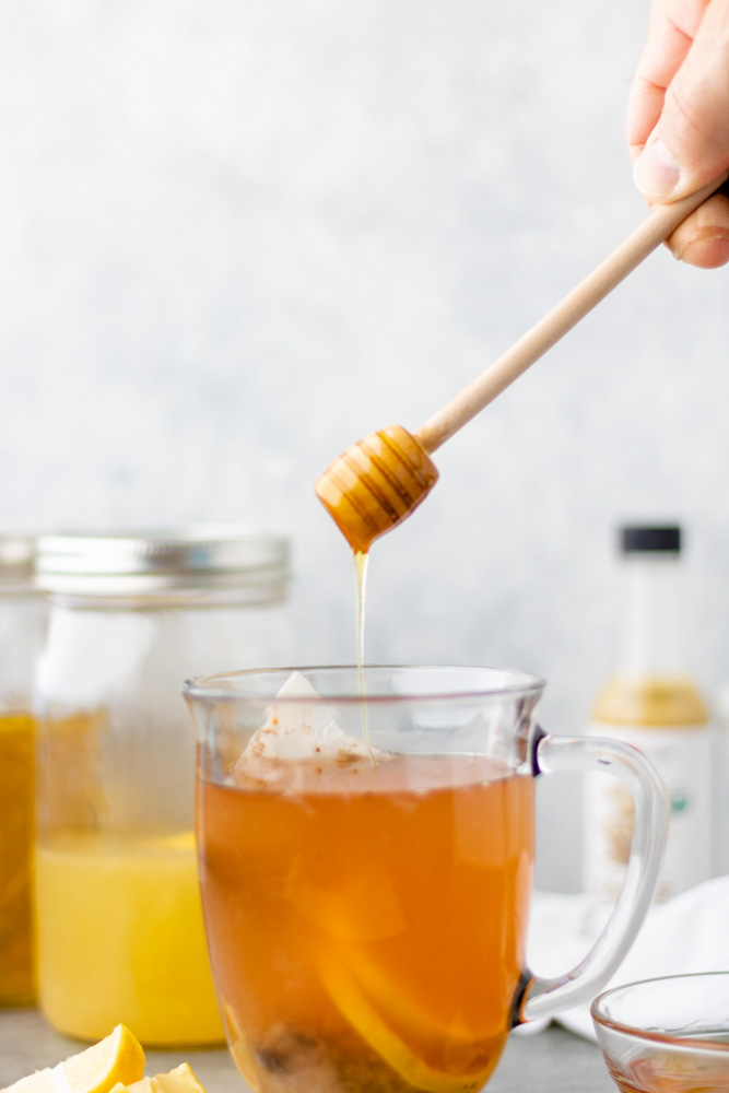 Honey Ginger Tea - Blog-2