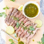 Grilled Flank Steak with Chimichurri - Blog-1