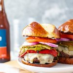 Roasted Green Chile Cheeseburgers - Blog-1