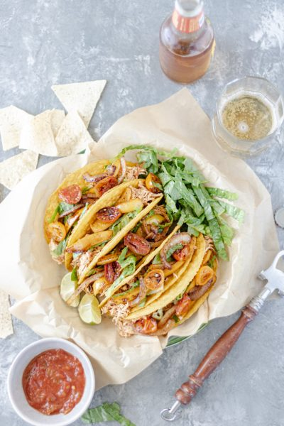 Shredded Chicken Crunchy Tacos - Blog-1