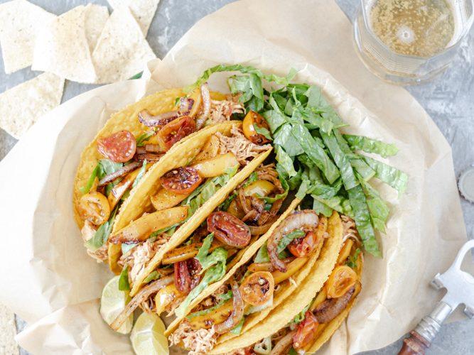 Shredded Chicken Crunchy Tacos - Blog-1