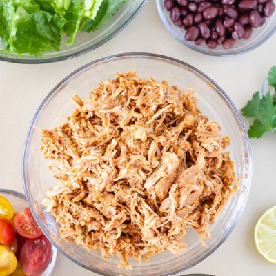 The Best Slow Cooker Salsa Chicken