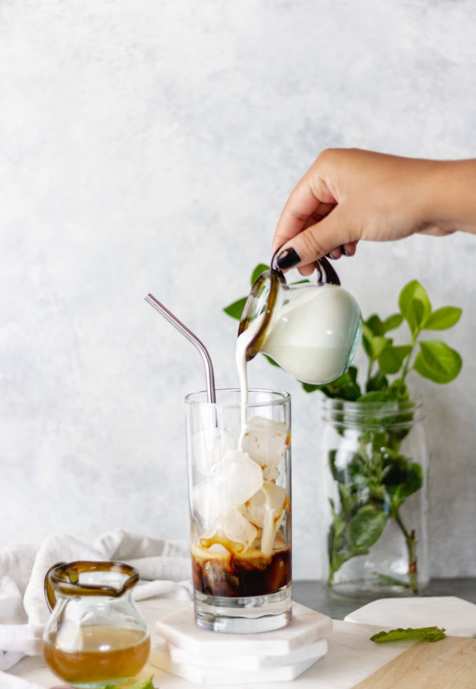 The Best Iced Nespresso Mint Lattes - Blog-3