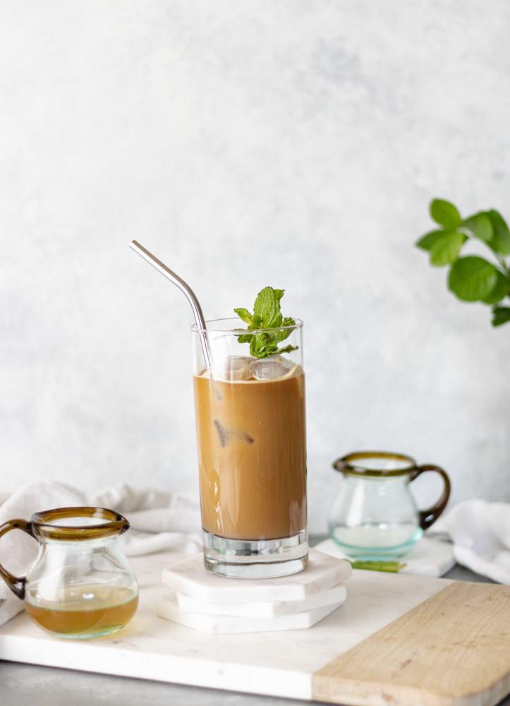 The Best Iced Nespresso Mint Lattes - Blog-6