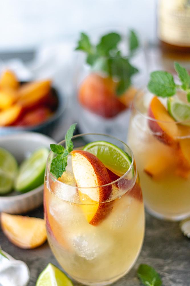 The Best Summer Peach Whiskey Mule - Blog-2