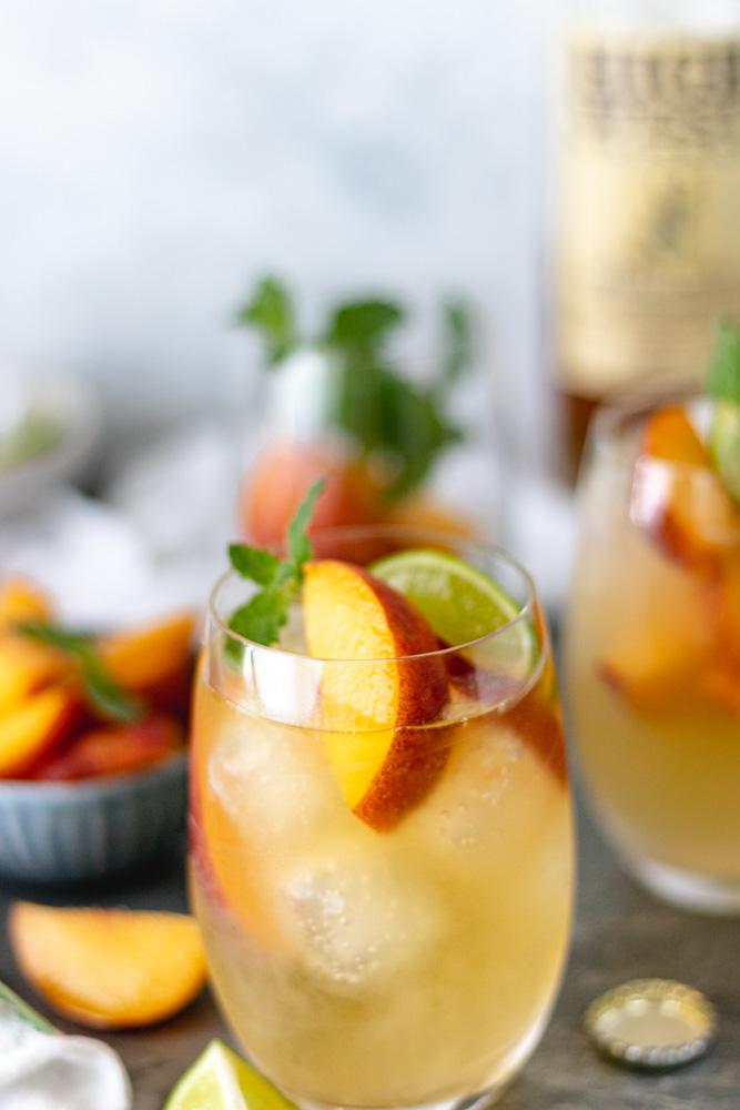 The Best Summer Peach Whiskey Mule - Blog-3
