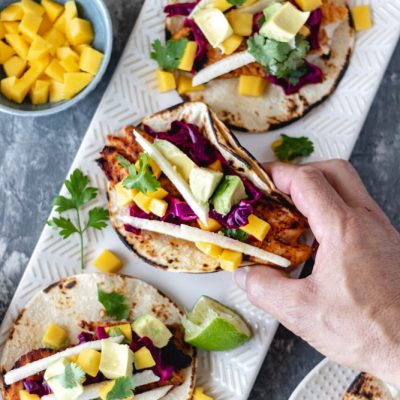 Easy Grilled Chili-Lime Fish Tacos
