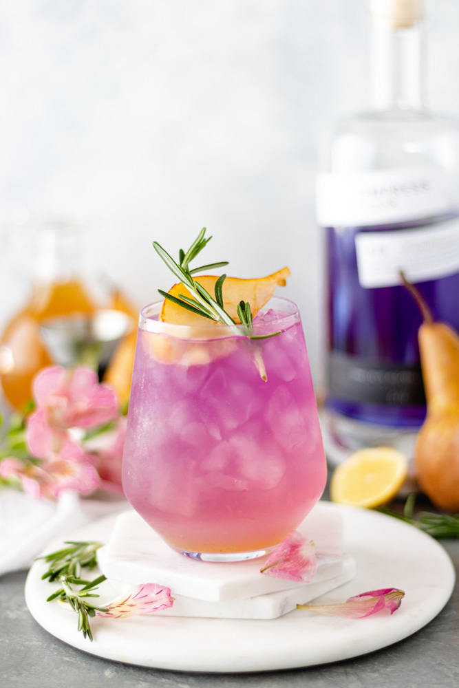 Empress Pear-Rosemary Gin Cocktail - Blog-4