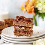 Maple Pecan Pie Bars - Blog-1