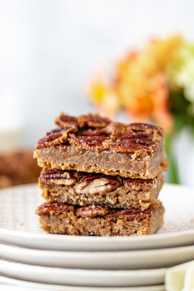 Maple Pecan Pie Bars - Blog-2