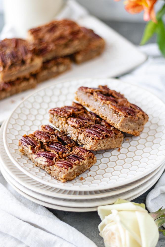 Maple Pecan Pie Bars - Blog-3