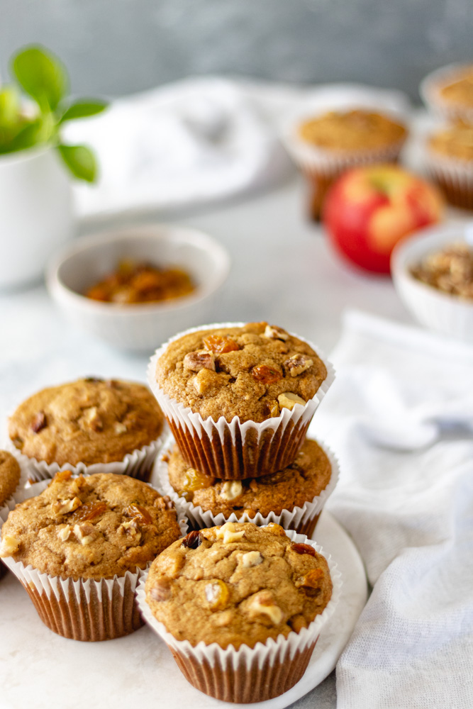 Chai Sweet Potato Breakfast Muffins A Life Delicious
