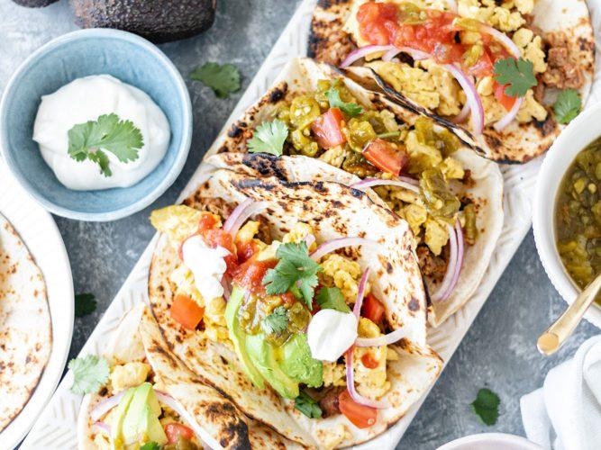 Loaded Breakfast Taco Bar - Blog-2