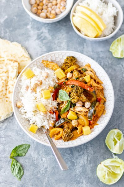 Chicken & Vegetable Coconut Curry - Blog-1