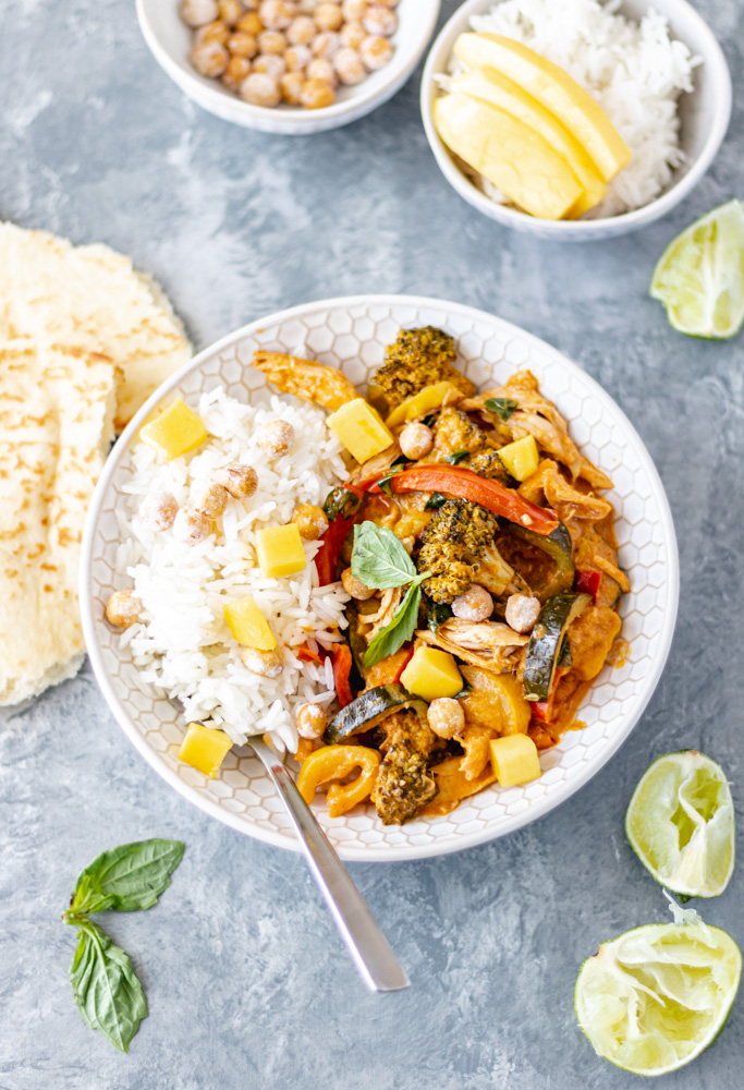 Chicken & Vegetable Coconut Curry