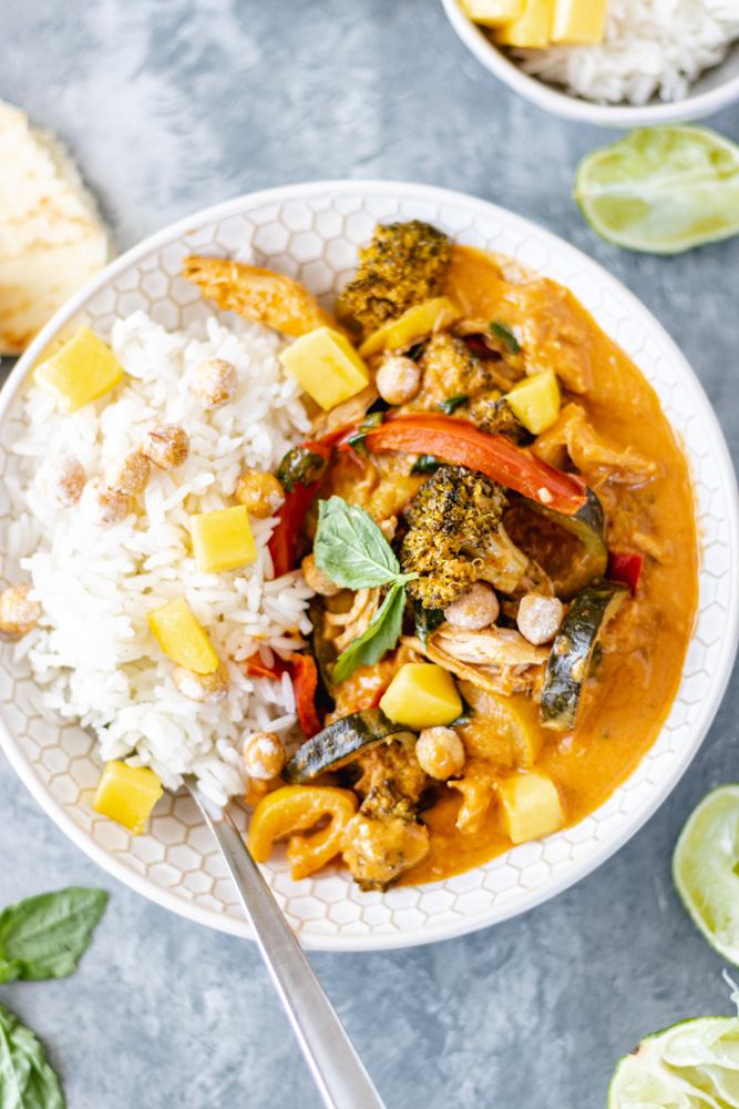 Chicken & Vegetable Coconut Curry - Blog-2