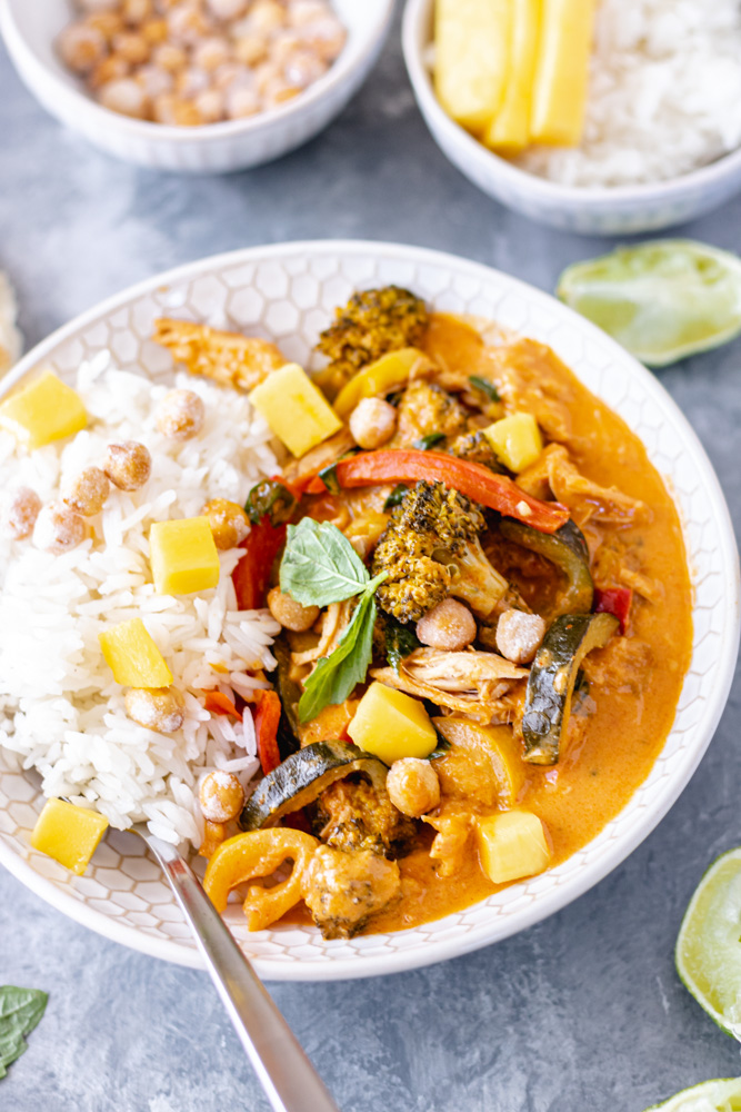 Chicken & Vegetable Coconut Curry - Blog-3