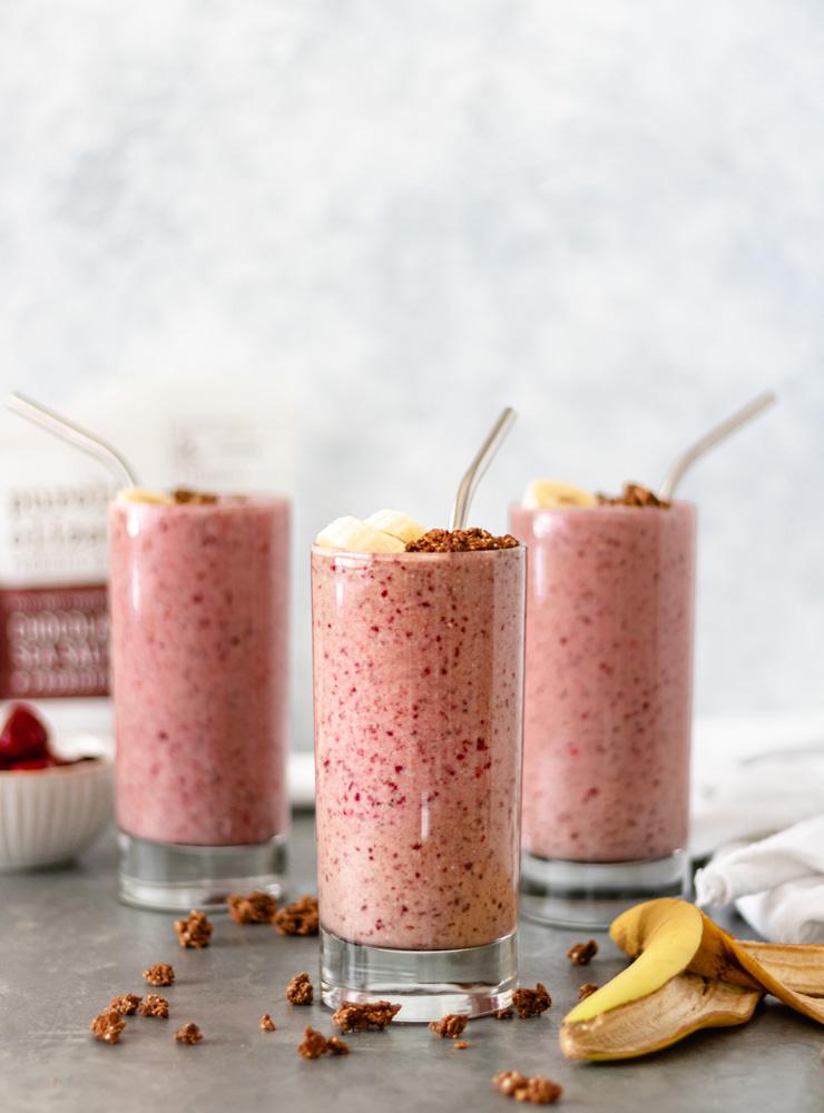 Dark Cherry Breakfast Smoothie - Blog-4