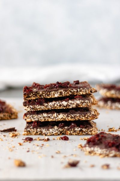 Chocolate Cherry Quinoa Bars - Blog-1