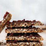 Chocolate Cherry Quinoa Bars - Blog-2