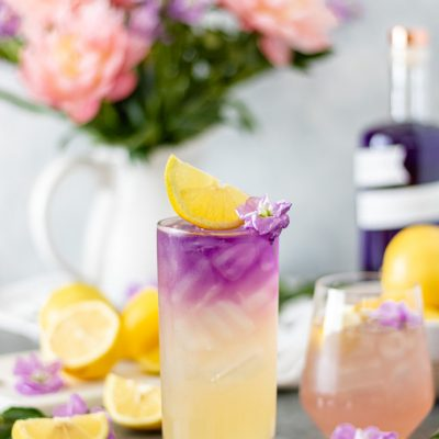 Honey Lavender Gin Lemonade (with Empress)