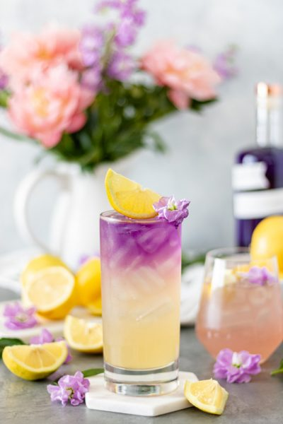 Honey Lavender Gin Lemonade - Blog-3
